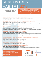 ADIL 63 Prog Rencontres Habitat janv mars 2019