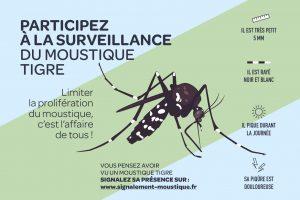 Affiche sur la surveillance du moustique tigre